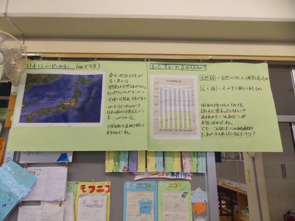 教室のレポート