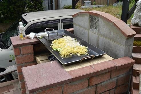 鉄板プレス料理鉄板プレス・極厚鉄板 お祭り屋台サイズ