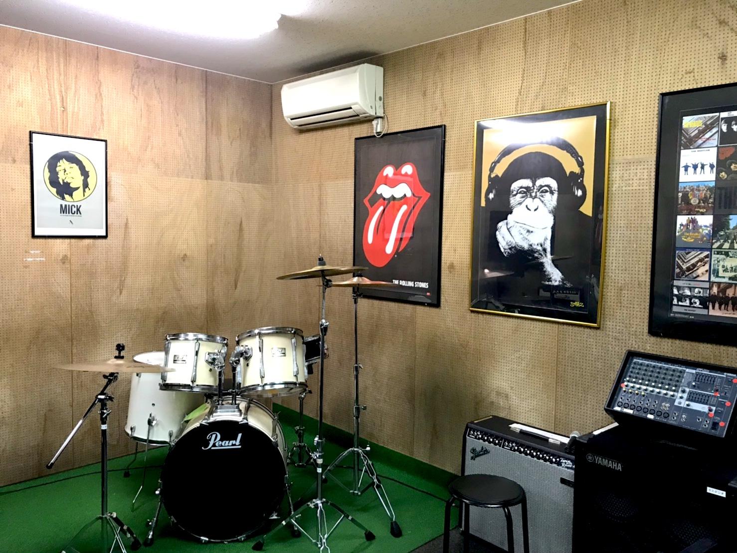 おしゃれな雰囲気のBスタジオ