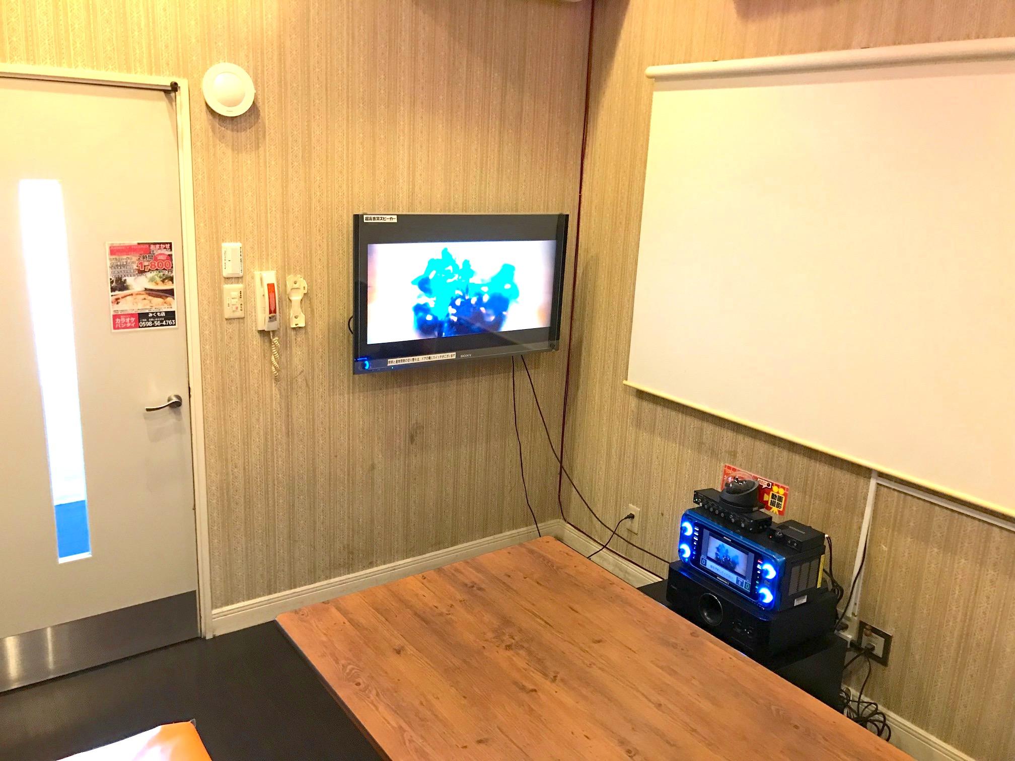 プロジェクタールーム完備(20号室)