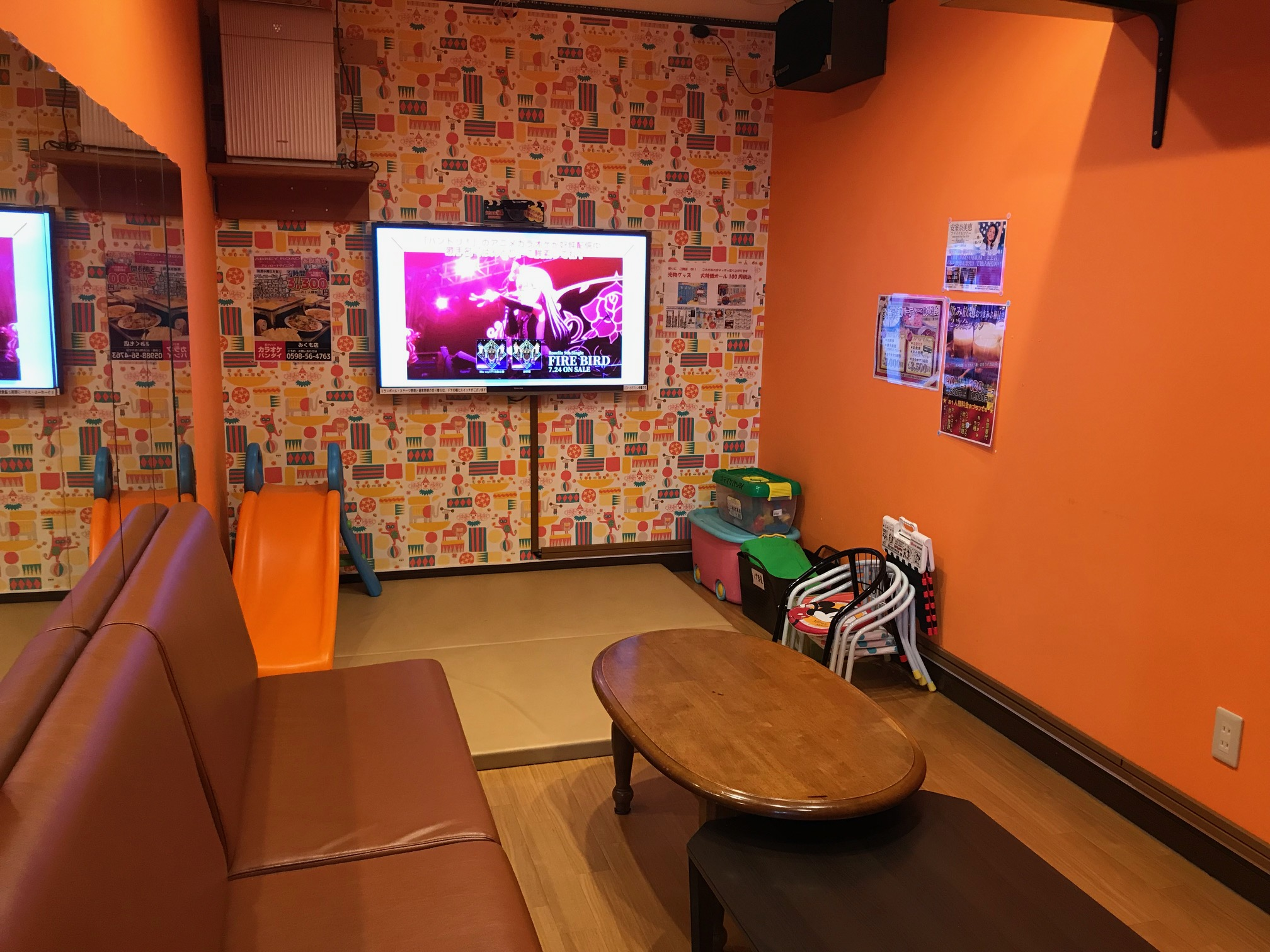 キッズルーム完備(19号室)その他宴会ルームにキッズコーナーの設置も可能です