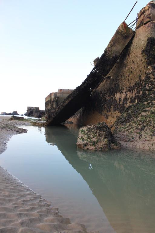 künstlicher Hafen von Arromanches