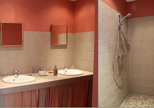 Badezimmer Appartement Argence