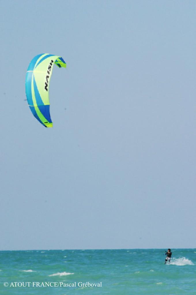 Kitesurfen Atlantikküste Frankreich