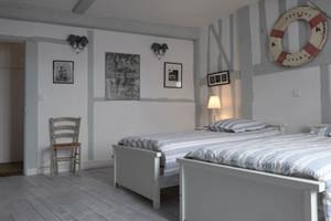 Schlafzimmer Ferienwohnung 4 Personen