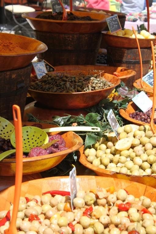 provenzalischer Markt in Eugalières