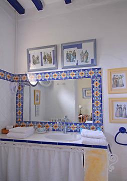 Badezimmer Chambre Bleue