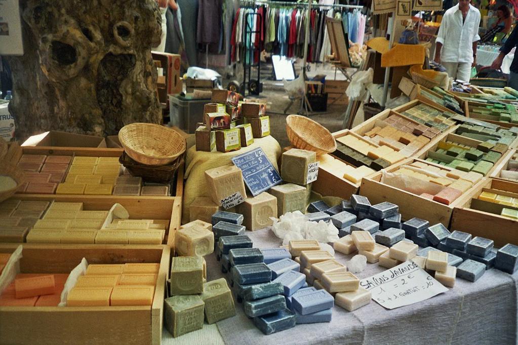 Seifenstand auf provenzalischen Markt