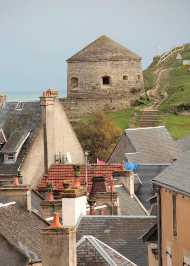 Vauban- Turm in Port-en-Bessin
