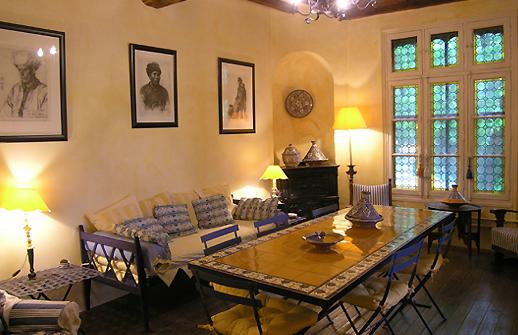 Aufenthaltsraum Gästehaus