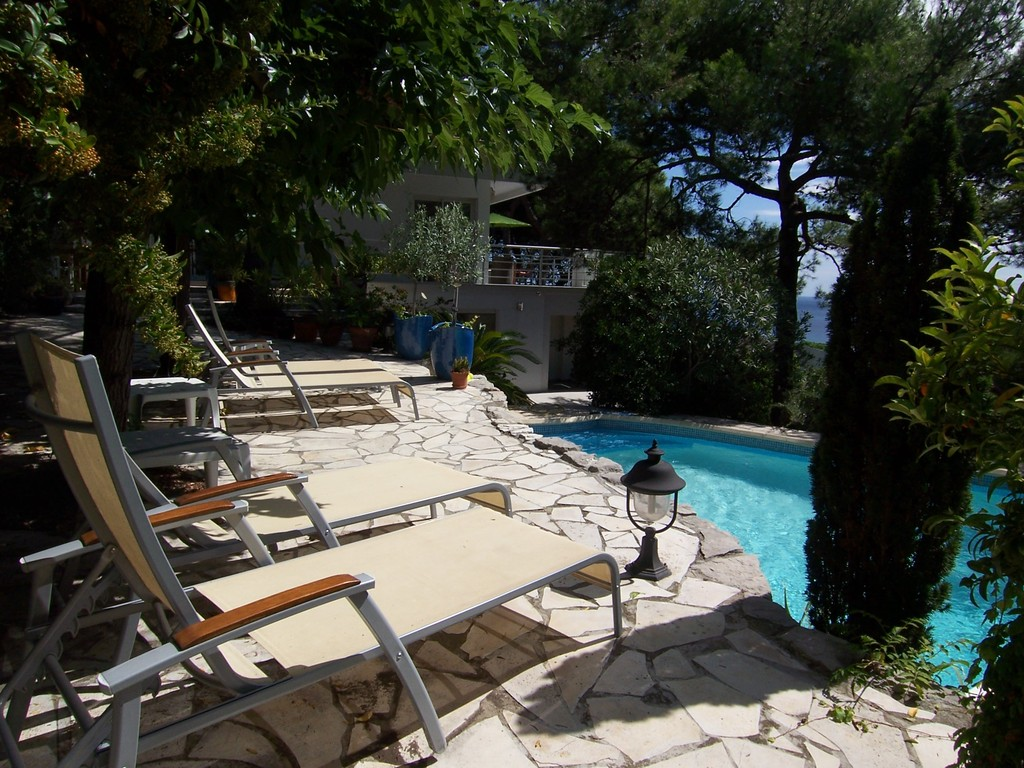 Pool im Gästehaus