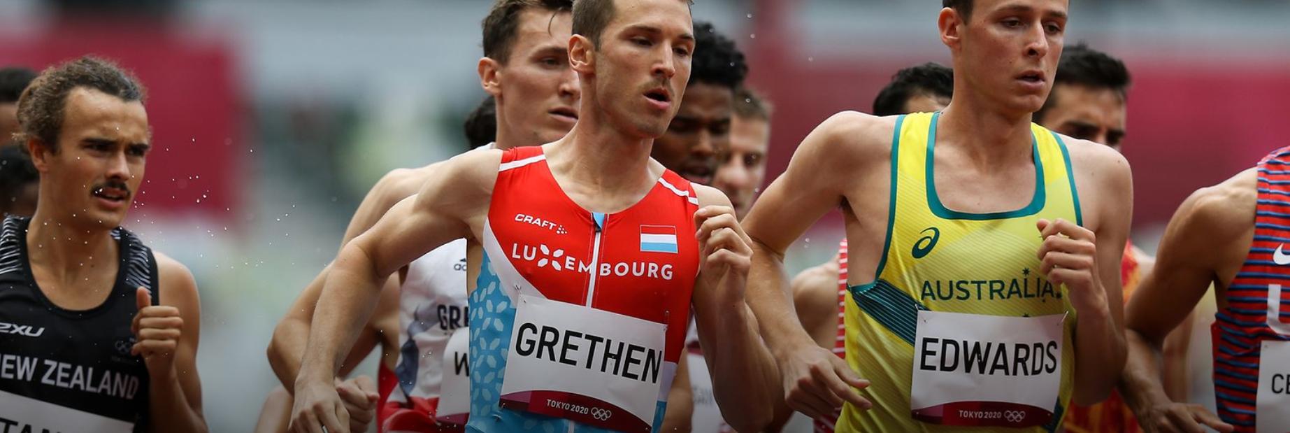 Tokyo 2021 -en CSL ass houfreg vir dem Charel Grethen seng Qualifikatioun vir Halleffinal op den 1500 meter op der Olympiad zu Tokyo!