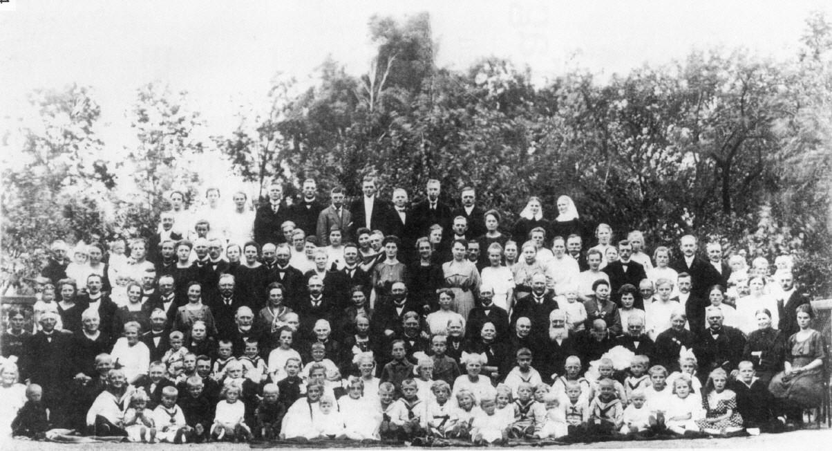 Wiehlertag 1921 in Grunau