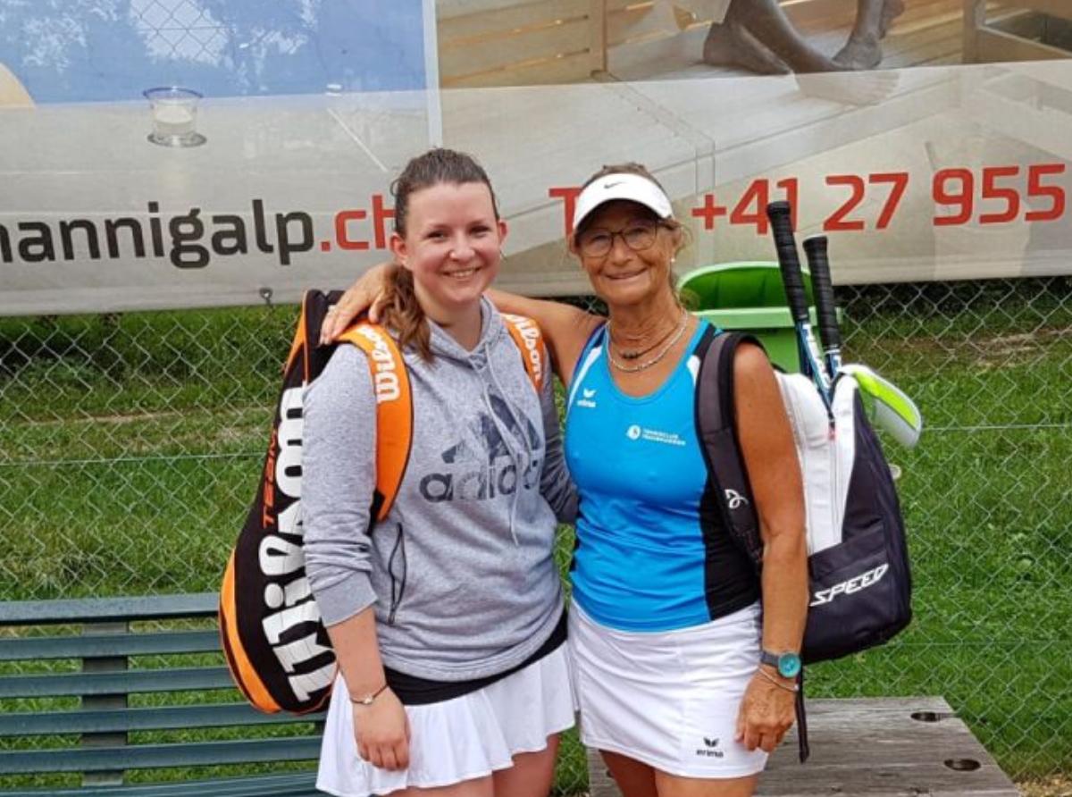 2018 Damen Einzel Sieger: Heidi Brombacher / Finalistin: Jessica Bast