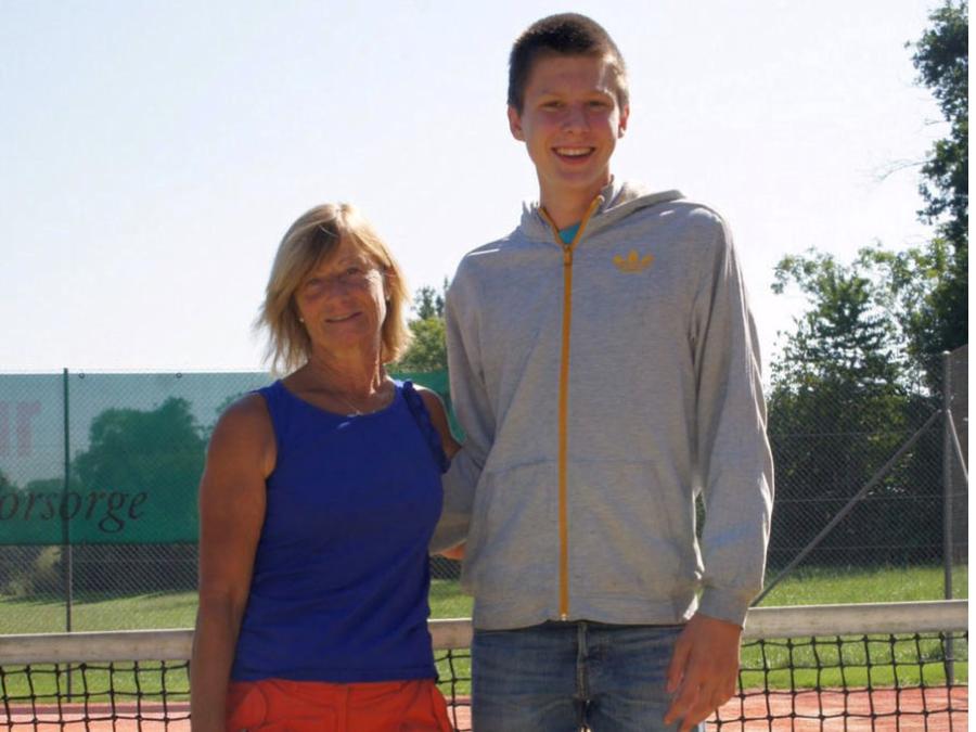2012 Mixed Sieger: S. Christener & H. Brombacher / Finalist: M. Schläfli & M. Hediger