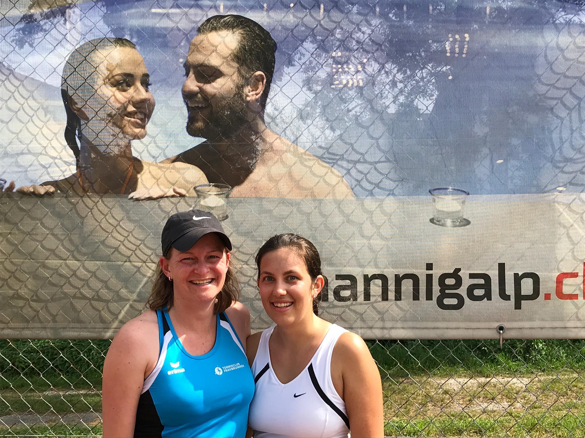 2019 Damen Trostturnier Sieger: Karen Tiemann / Finalistin: Tatjana Wingeier