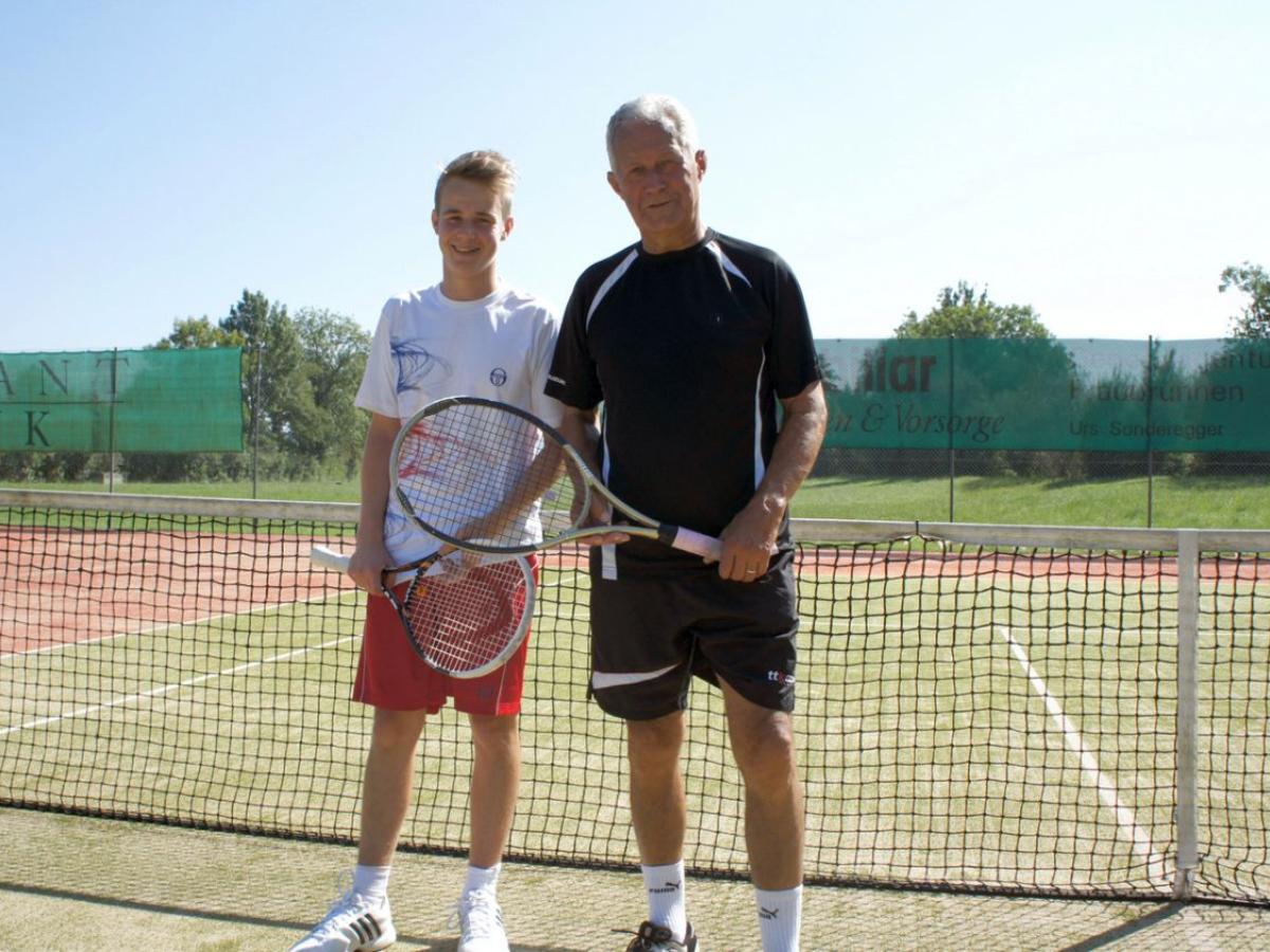 2012 Trostturnier Sieger: Pascal Schlegel / Finalist: Hans Peter Meyer