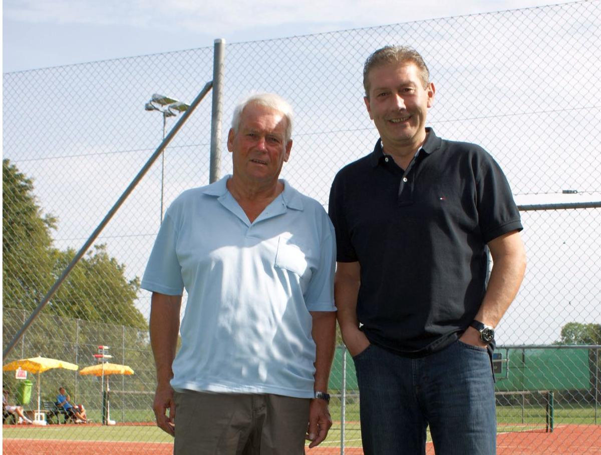 2012 Herren Einzel ab 35 Jahre Sieger: Beat Wasem / Finalist: Roman Roth