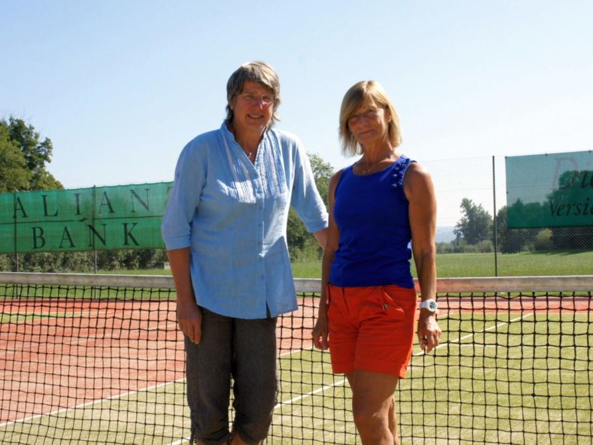 2012 Damen Einzel Sieger: Heidi Brombacher / Finalistin: Anita Roth