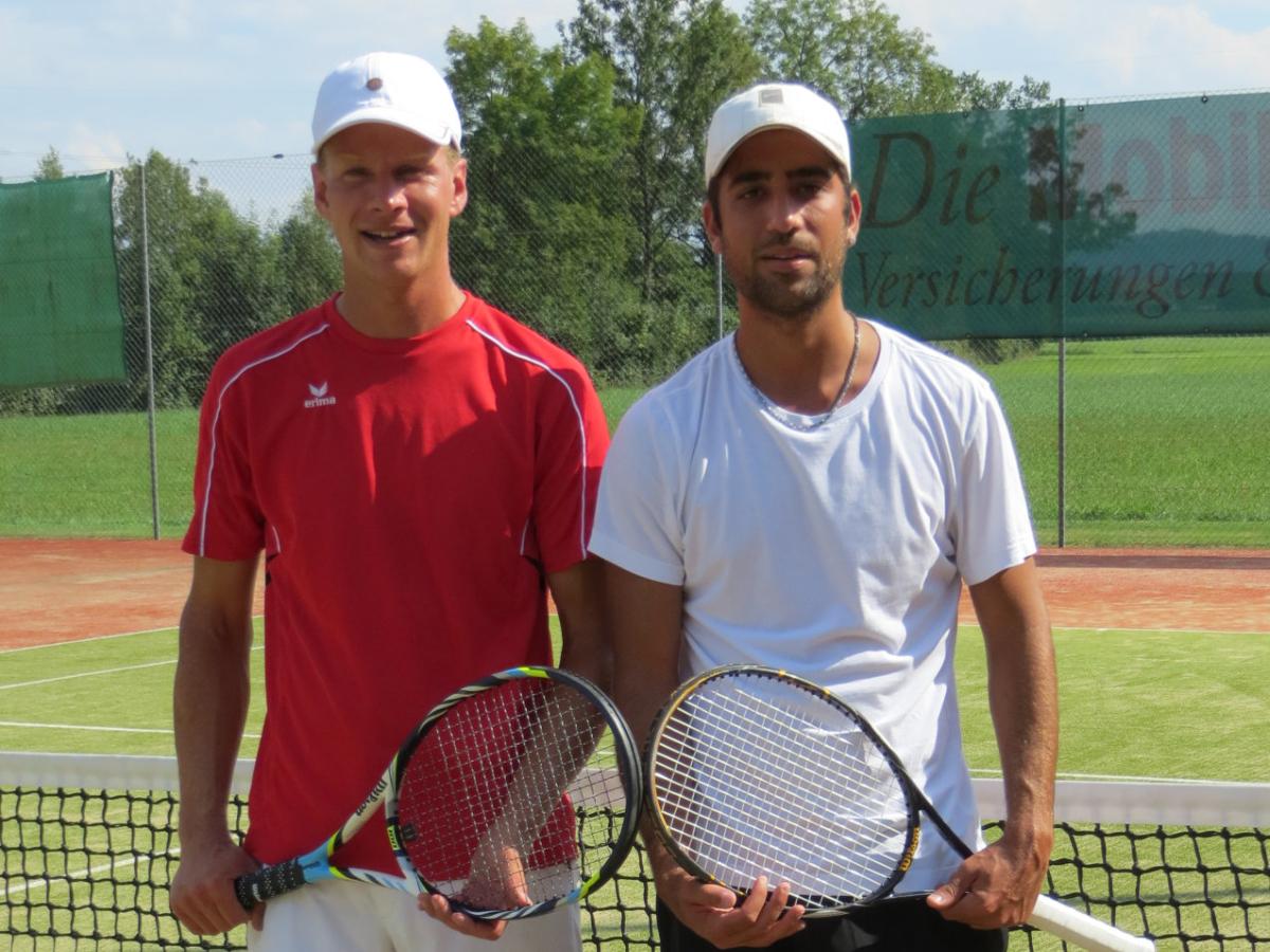 2014 Herren Einzel Sieger: Fortunato Orlando / Finalist: Martin Sommer