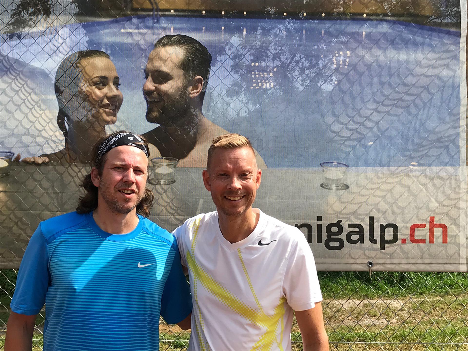 2019 Herren Trostturnier Sieger: Fabio Schaller / Finalist: Mika Laitinen