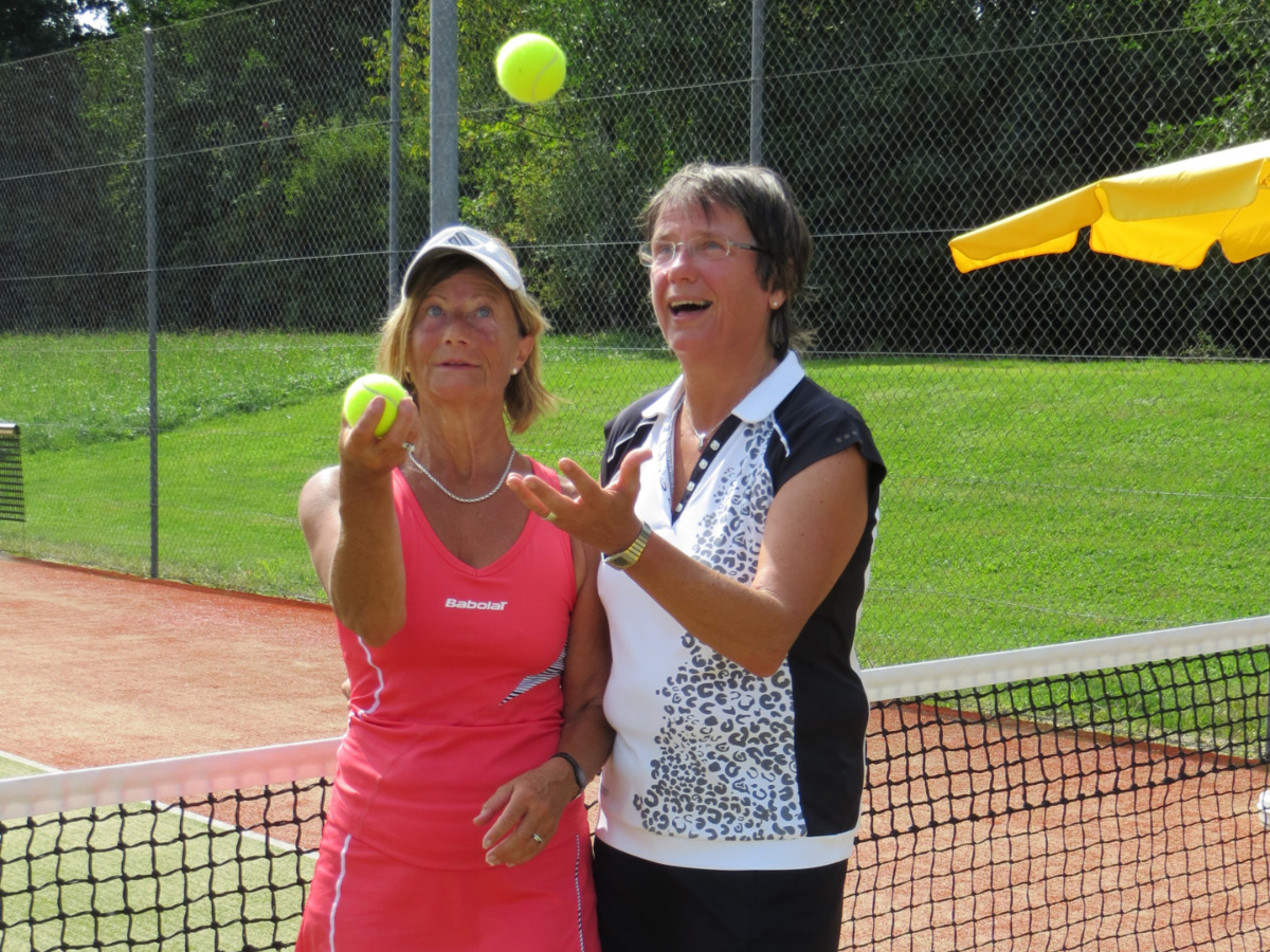 2013 Damen Einzel Sieger: Heidi Brombacher / Finalistin: Anita Roth