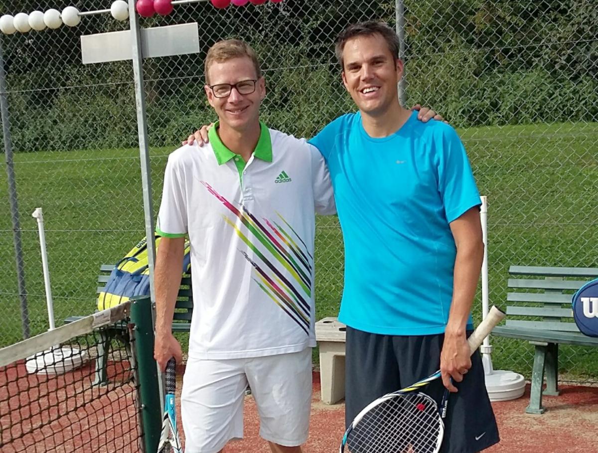 2016 Herren Trostturnier Sieger: Martin Sommer / Finalist: Olivier Blanc