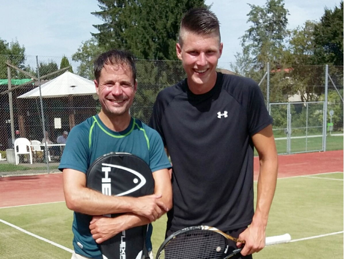 2016 Herren Einzel Sieger: Christoph Fricker / Finalist: Sandro Christener