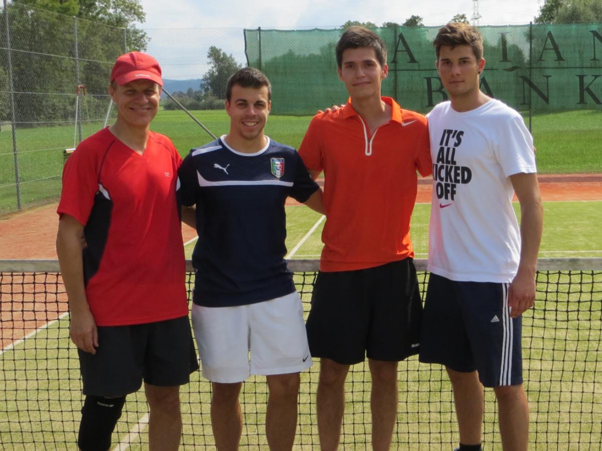 2013 Herren Doppel Sieger: M. & M. Schläfli / Finalist: R.Dietschi & R. Roth