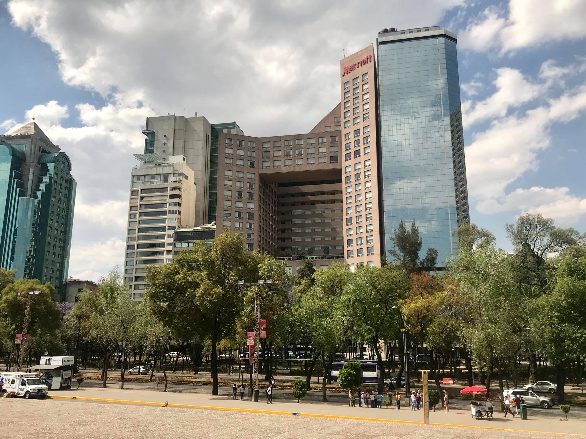 Hotel Marriot de Reforma, CDMX