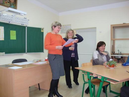 Мета семінару - емоційна розрядка вчителів
