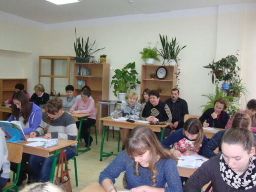 Учасники засідання творчої групи