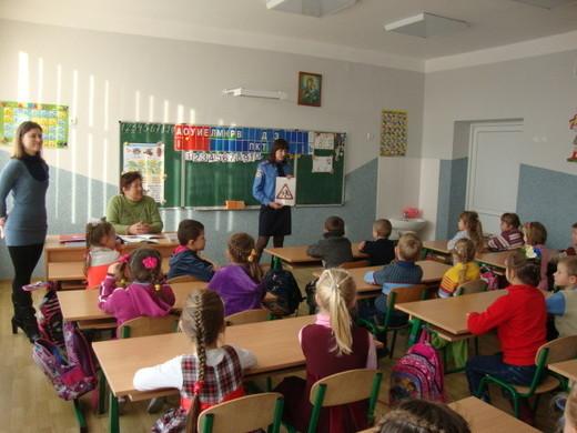 Перші класи знайомляться з ПДР
