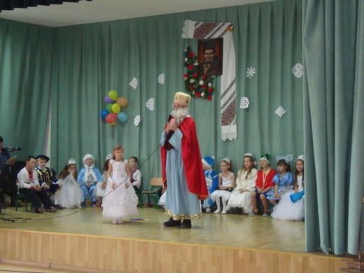 Святий Миколай на святі