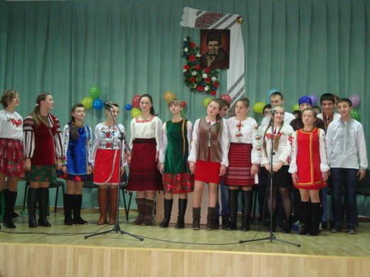 Цього року андріївські вечорниці представив 9-Б клас (фото напам'ять)
