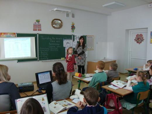 Гудзь Марія Василівна провела відкритий урок в 3-А класі