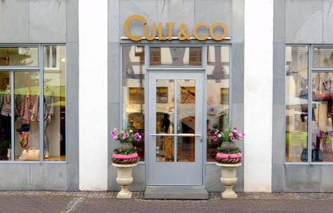 Cult&Co befindet sich in der Hafengasse in Ulm.