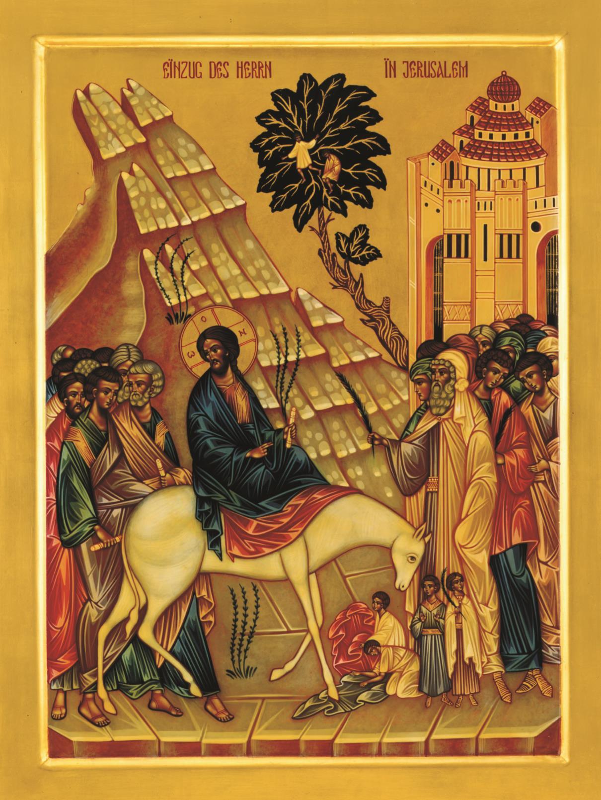 Einzug des Herrn in Jerusalem