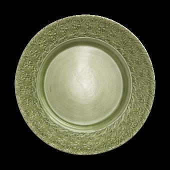 Mateus Ceramics - Lace Platte Grün