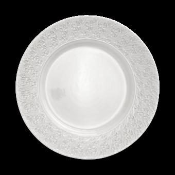 Mateus Ceramics - Lace Platte Weiß