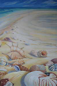 SHELL'S PARADISE, oil on canvas
