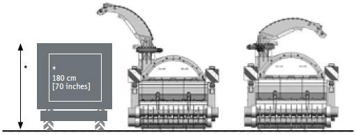 SEPPI M. Sammelmulcher B20 Anhängerhöhe