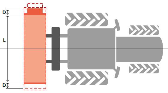 Laterale Seitenverschiebung von SEPPI M. Schlegelmulcher SMWA slim