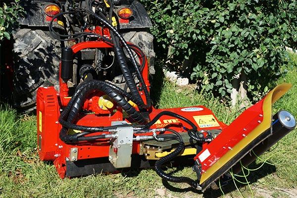 SEPPI M. X-FAST direct Schnellkuppelsystem mit hydraulischen Antrieb für Traktor