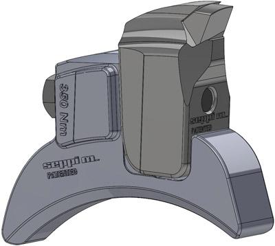 SEPPI M. Werkzeugehaltersystem V-Lock für STARFORST