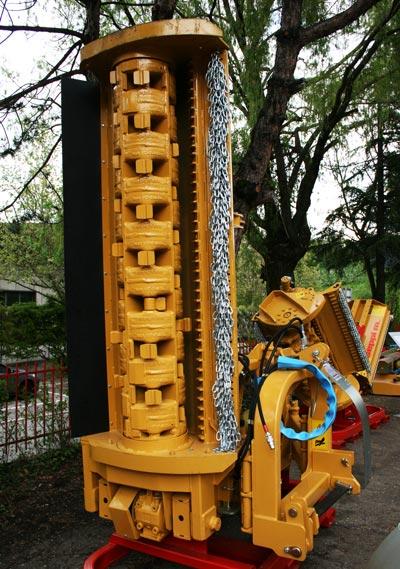 Forstrotor für SEPPI M. SAV Seitenmulcher