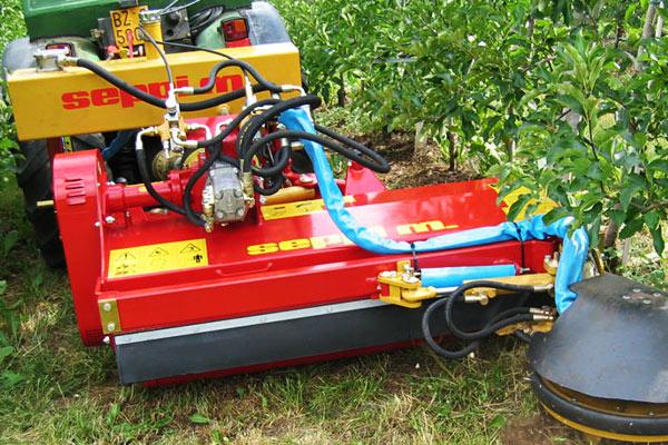 SEPPI M. X-FAST Schnellkuppelsystem mit unabhängiger Pumpe, Tank und Steuerventilen