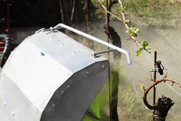 SEPPI M. XSP Unterstockbürste mit einstellbarer Tastleiste