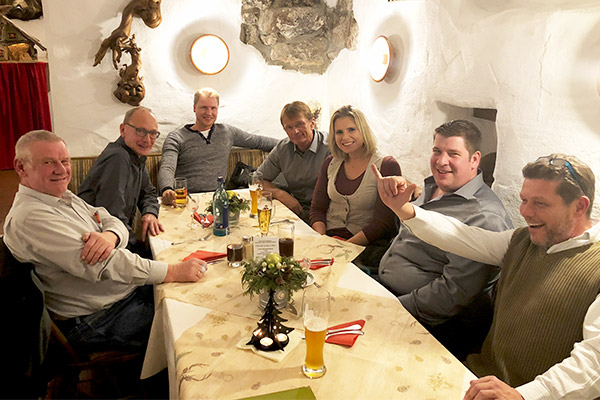 Das Team von Kamps SEPPI M. Deutschland auf unserer Weihnachtsfeier 2018
