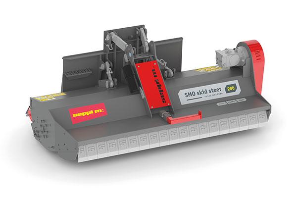 Hydraulischer SEPPI M. Mulcher für Kompaktlader SMO skid steer